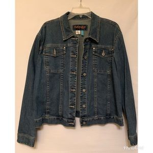 Fresh Produce Stretch Jeans Jacket XXL Pockets